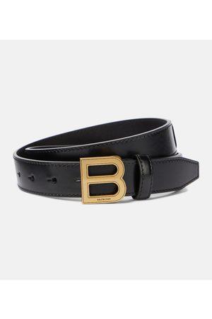 Balenciaga Cinturón Hourglass de piel