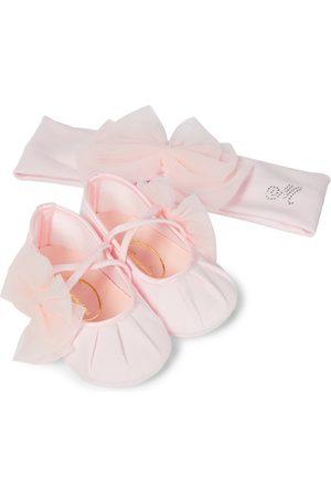 MONNALISA Conjunto de diadema y zapatos Baby