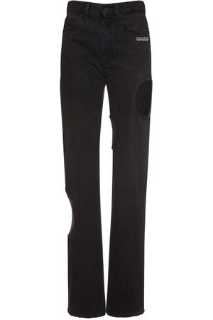 OFF-WHITE   Mujer Jeans Baggy Meteor Cool 25