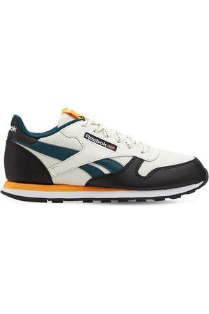 Reebok | Niño Sneakers De Piel Con Cordones 3.5