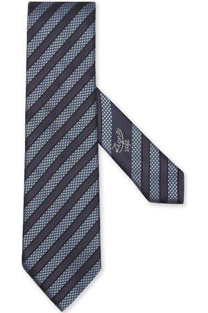 Ermenegildo Zegna Hombre Corbatas y corbatín - Corbata de seda a rayas diagonales