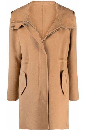 Pinko Abrigo con capucha y cordones