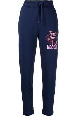 Love Moschino Pantalones de chándal con logo