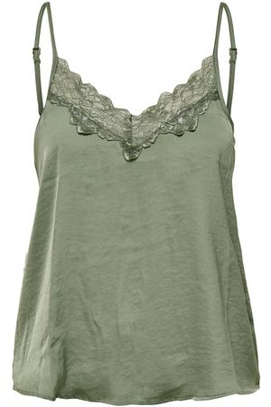Only LACE SLEEVELESS TOP