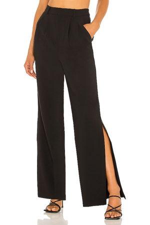 Lovers + Friends Pantalón bailey en color talla L en - Black. Talla L (también en M, S, XS).