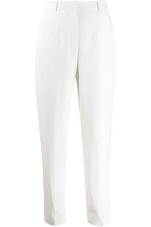 Alexander McQueen Mujer Pantalones de talle alto - Pantalones de vestir de talle alto