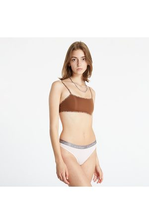 Calvin Klein Unlined Bralette 2 Pack Cinnamon