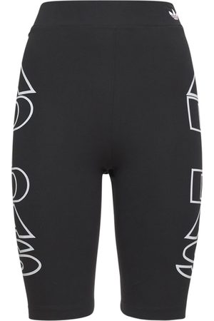 adidas Mujer Shorts o piratas - | Mujer Shorts Biker Con Cintura Alta 36