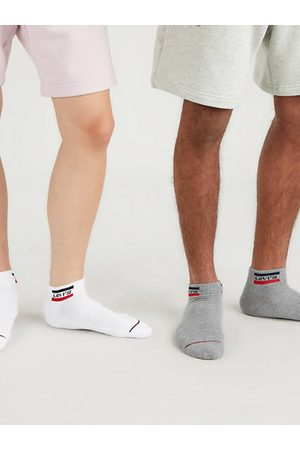Levi's ® Mid Cut Sportswear Logo Socks 2 Pack / White