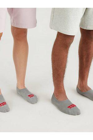 Levi's ® High Rise Batwing Socks 3 Pack / Middle Grey Melange
