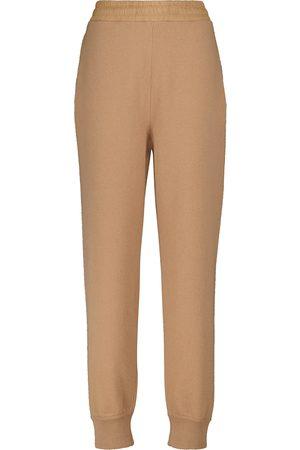 Moncler Pantalones de chándal de lana y cachemir
