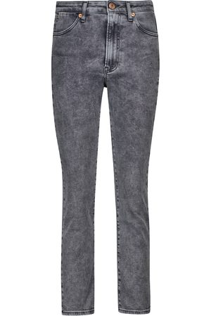 3x1 Jeans skinny Channel Seam de tiro alto
