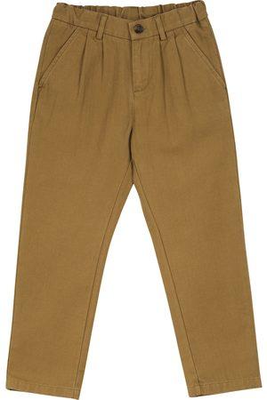 BONPOINT Pantalones de sarga de algodón