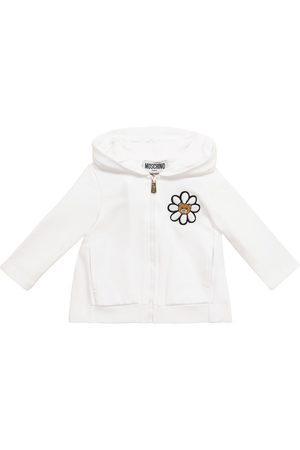 Moschino Bebé – sudadera con capucha de algodón print