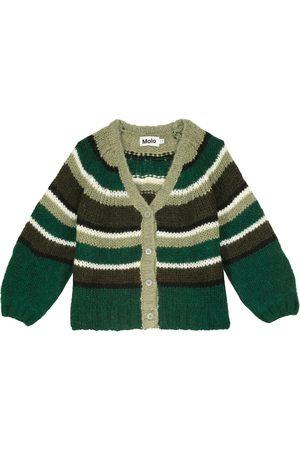 Molo Cárdigan Gail en mezcla de lana a rayas