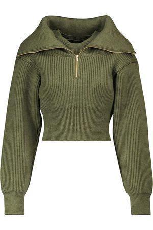 Jacquemus Jersey cropped La Maille Risoul de lana