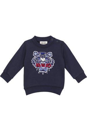 Kenzo Sudadera Baby de algodón con logo