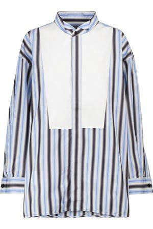Marni Camisa de algodón a rayas