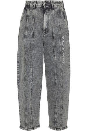 Stella McCartney Jeans anchos de tiro alto