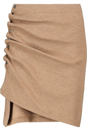 Paco rabanne Minifalda de punto elástico