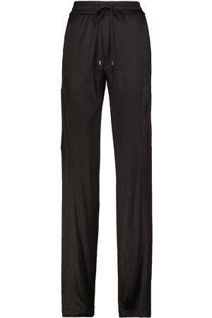 Tom Ford Pantalones anchos de punto de tiro alto