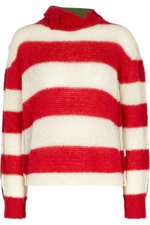Marni Jersey de mezcla de lana y angora a rayas