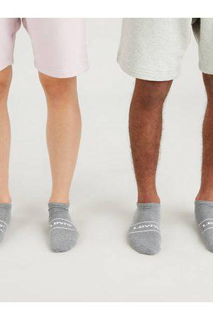 Levi's Calcetines de deporte de altura baja ®: paquete de 2 / Grey Melange