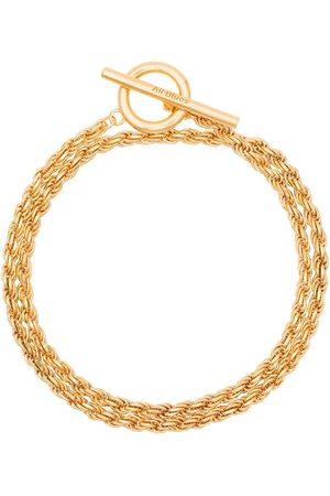 ALL BLUES Pulsera con cadena tipo cuerda