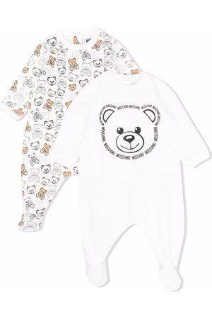 Moschino Kids Pijama con estampado Teddy Bear
