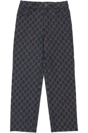 Gucci Niña Vaqueros - | Niña Pantalones De Denim De Algodón Orgánico Gg 8a