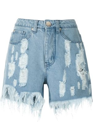 Olympiah Pantalones vaqueros cortos rasgados