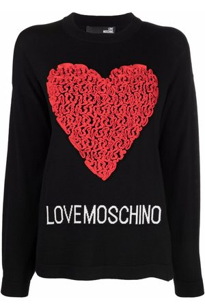 Love Moschino Jersey con aplique de corazón
