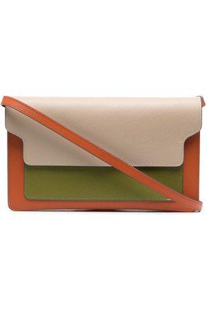 Marni Bolso de mano con diseño colour block