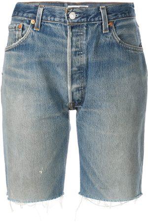 RE/DONE Pantalones vaqueros cortos por la rodilla