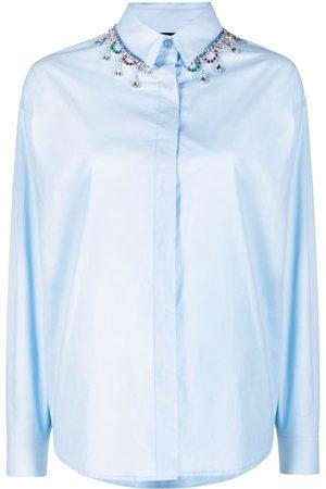 Pinko Camisa con detalles de cristales