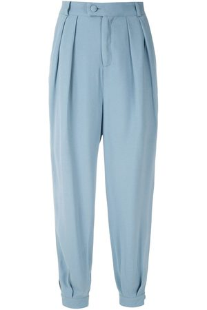 Olympiah Pantalones Luyne con pliegues