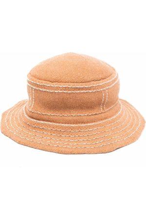 Barrie Sombrero de pescador con efecto envejecido