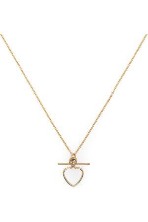 Petite Grand Collar con colgante Heart and Bar