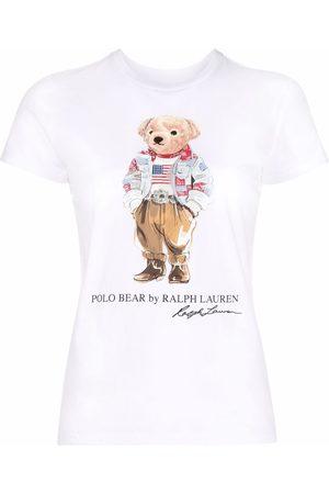 Polo Ralph Lauren Camiseta con estampado Polo Bear