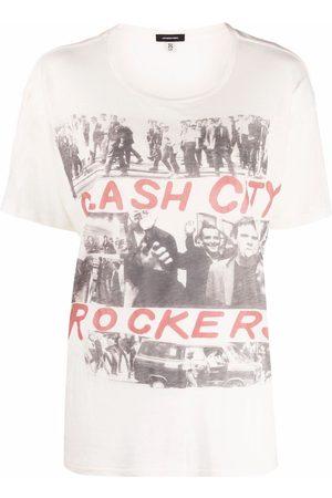 R13 Camiseta Cash City Rockers