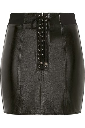 Dolce & Gabbana Minifalda con cordones