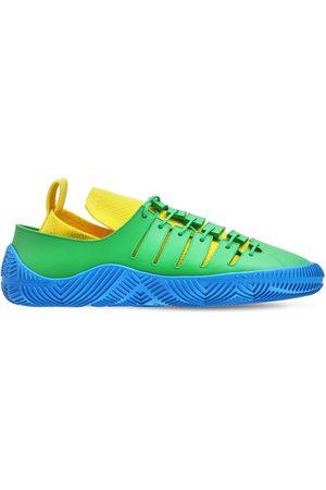 Bottega Veneta | Hombre Sneakers De Punto De Tejido Técnico Y Goma /yellw/blue 39