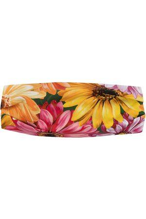 Dolce & Gabbana Cinta para el pelo con estampado floral
