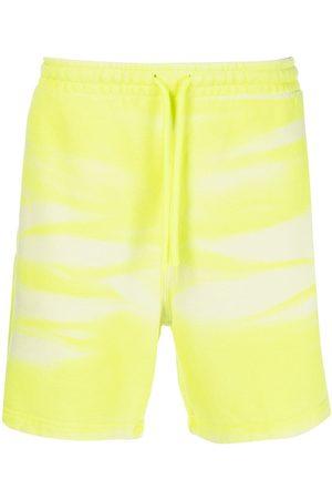 Alexander Wang Pantalones cortos de deporte teñidos