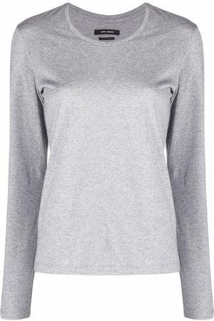 Isabel Marant Camiseta Alka con manga larga