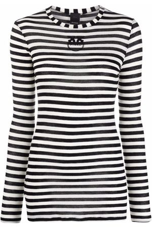 Pinko Camiseta a rayas de manga larga