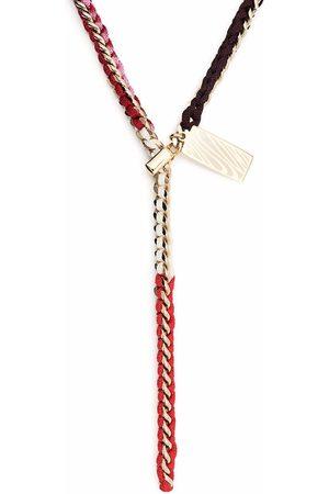Missoni Collar entretejido con placa colgante
