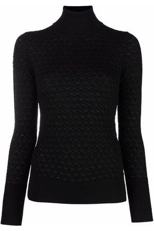 ELEVENTY Mujer Cuello alto - Jersey ajustado con cuello vuelto