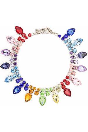 Philipp Plein Collar con detalles de cristal