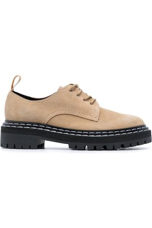 Proenza Schouler Zapatos derby con suela gruesa